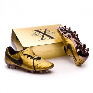 605ee0a93d80 New Nike Tiempo Legend VI Totti X Roma Gold - Soccer Cleats Superfly ...