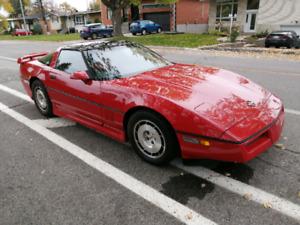1986 Chevrolet Corvette Jet Red
