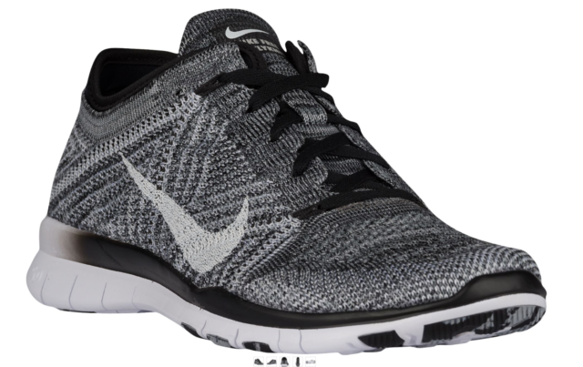 check out 20947 192ec NEW Women's Nike Free TR 5 Flyknit Shoes Size: 11 Color: Black/Gray