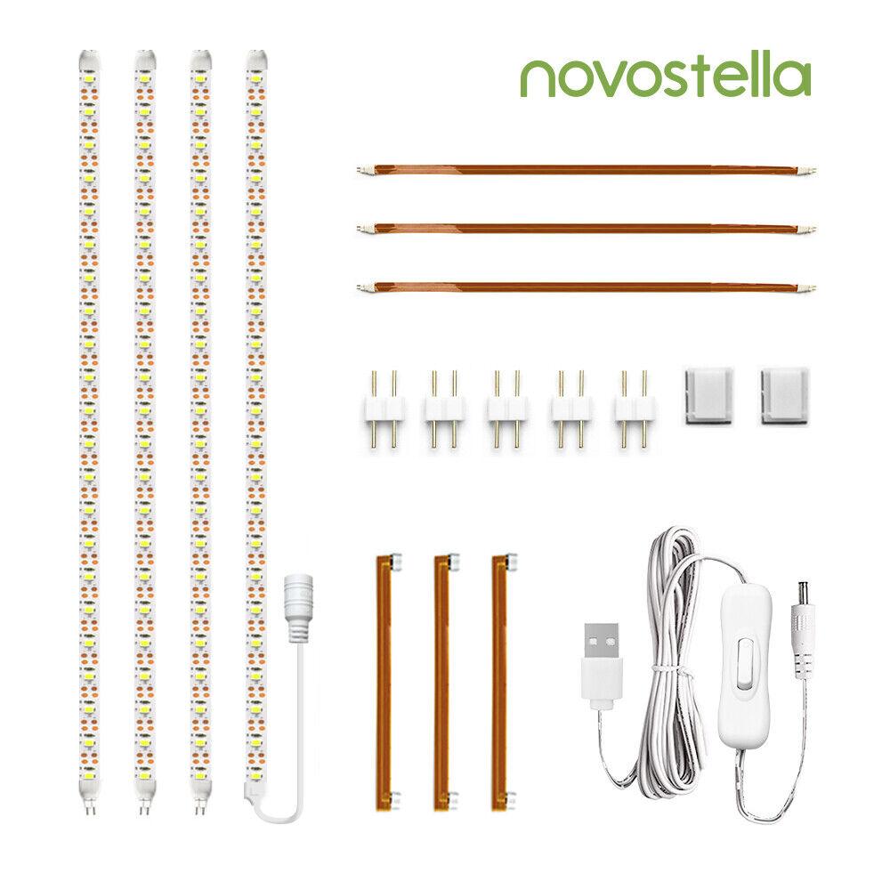 Under Cabinet Lighting Kit Flexible Led Kitchen Strip Lights Bar Cupboard Lamp For Sale Online Ebay