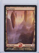 25x Full Art Basic Land MOUNTAIN #242 ORIGINAL Zendikar MtG x25!!