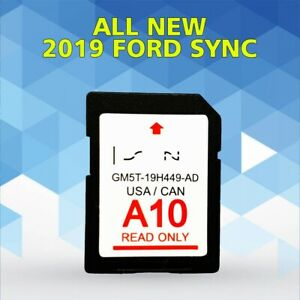 ford  usacanada sync  navigation sd card map update gmt  ad ebay