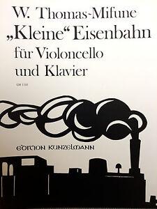"""""""kleine"""" Eisenbahn Für Violoncello Und Klavier Farben Sind AuffäLlig Trendmarkierung Thomas-mifune"""