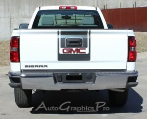 db2a1ea023 Image is loading MIDWAY-2014-2018-GMC-Sierra-Graphics-Decals-amp-