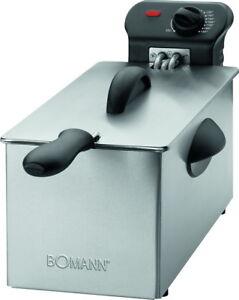 2000 Watt Bomann Edelstahl 3 L Kaltzonen-Frit