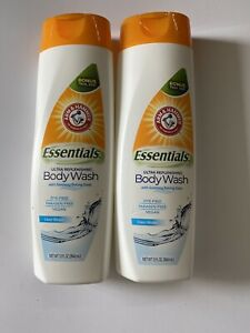Arm & Er Essentials Ultra Replenishing Body Wash With Soothing Baking Soda 12 Oz