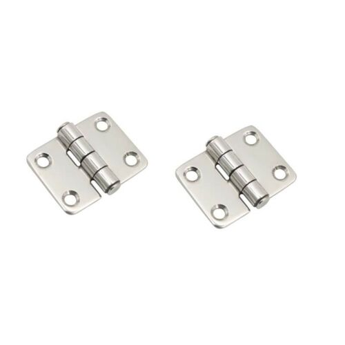 """2X boat stainless steel hinge 1-1//2/"""" boat parts"""