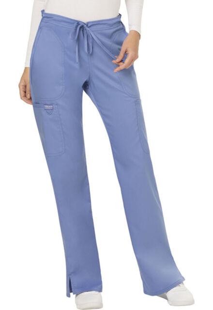 Cherokee Scrubs REVOLUTION Uniform Mid Rise Pull-On Cargo Pants/_WW120/_Regular