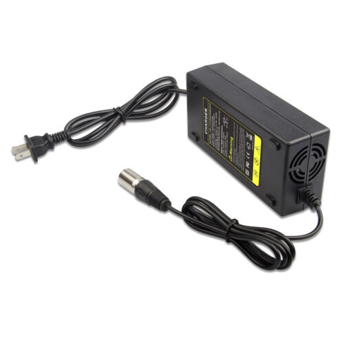 54.6V 2A Charger Adapter fits 48V E-bike Electric Bicycle Li-ion Lithium Battery