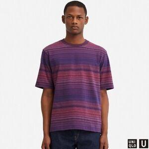 Uniqlo T-shirt Purple 415510 size Large