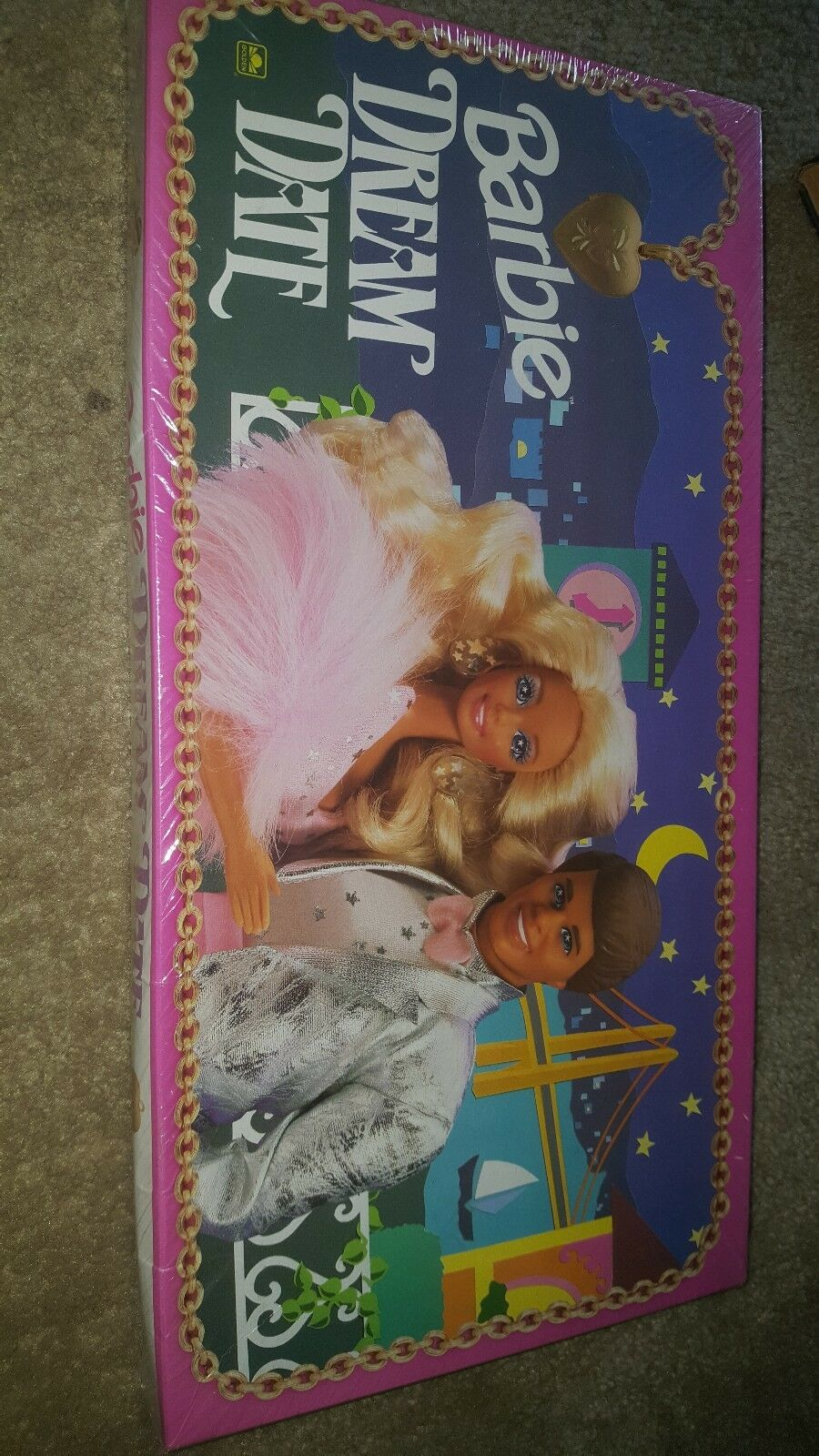 1992 1992 1992 Barbie Dream Date Vintage Board Game Mattel 3cf40a