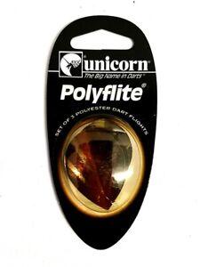 Unicorn-Polyflite-9-Ensembles-de-Golden-flechettes-Vols-Clearance-Offre