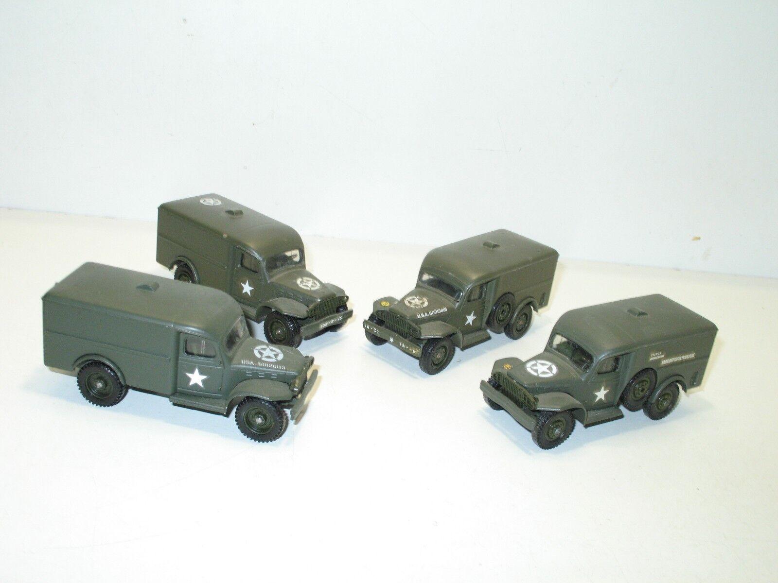 SOLIDO, camioneta Dodge WC 54 chapa, Ejército de los E.E.U.U. E.E.U.U. E.E.U.U. 2dd078