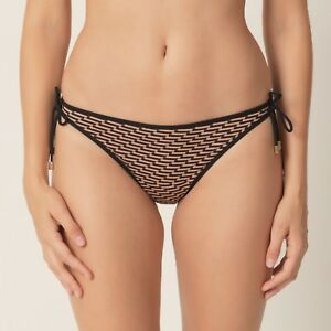 Ruban Maillot Monica Cuivre Noir Bain Hip Marie Bikini De Slip Hop Jo Pant Bronze O4fwAB
