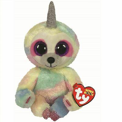 "2019 TY Beanie Boos 9/"" Medium SULLY the Sloth Stuffed Animal Plush w// Heart Tags"