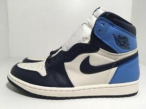 Details about Nike Air Jordan 1 Retro High OG Obsidian UNC 555088-140 Men's Shoes Size 8