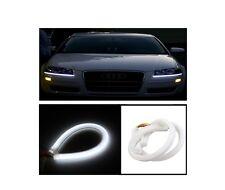 1 X Audi Style Neon Tube 30cm Flexible DRL LIGHT FOR CARS / BIKES - WHITE