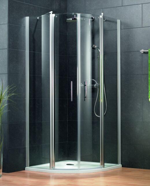 Viertelkreis Runddusche Schulte 80x80 Nano dusche Duschkabine  Duschabtrennung