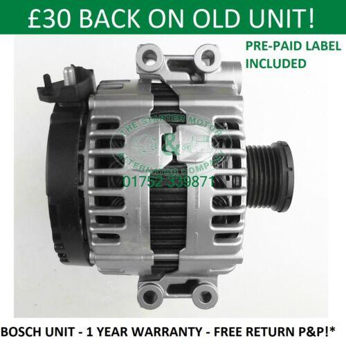 Bmw 520i E60 E61 2007-2011 Bosch Alternateur 0121715017 0121715117