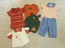 Baby Boy Soft Cotton Outfit Pants Tops Set 3-6 Month Gymboree Old Navy Sucre