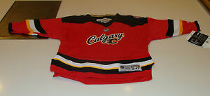 7d7be5ff9 2013-14 Calgary Flames NHL Alternate 3rd Jersey Child Kids 2-4T ...