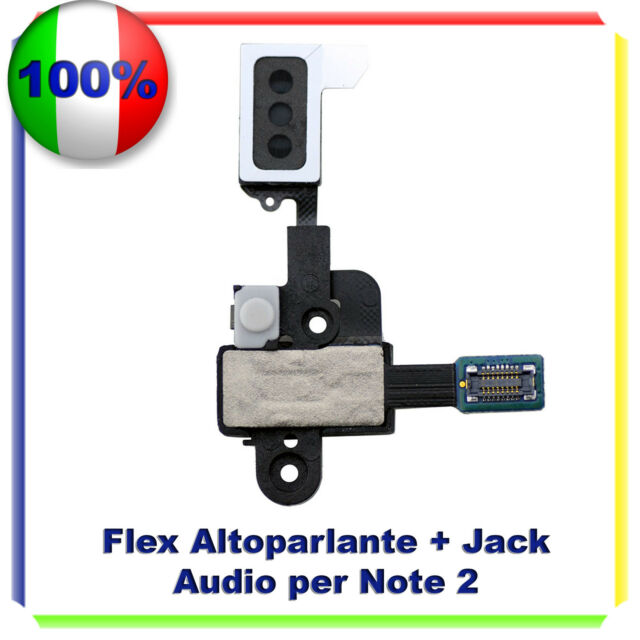 GALAXY NOTE 2 II N7100 Flex Jack Cuffia + Speaker Per Samsung NOTE 2
