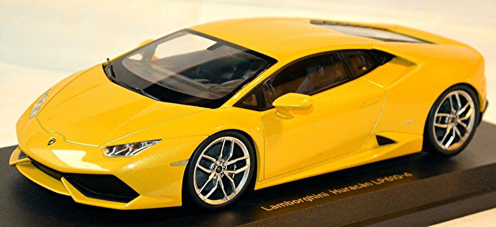 Lamborghini Huracán LP610-4 Coupé Coupé Coupé 2014-16 jaune pearl métallisé 1 18 Kyosho 59b96a
