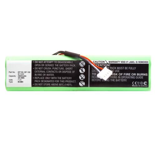 3600mAh BP190 BP-190 B11432 Battery for Fluke 433 434 435 Power Quality Analyzer