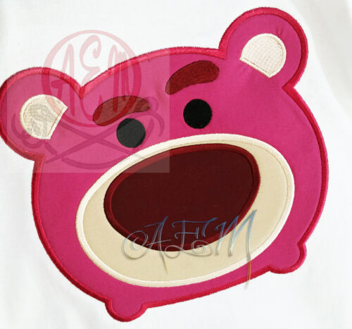 Personalized Tsum Tsum Lotso Machine Embroidered Shirt