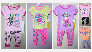 BABY TODDLER GIRL/'S 2-PC LS KNIT PAJAMA SET *NWT GARANIMALS