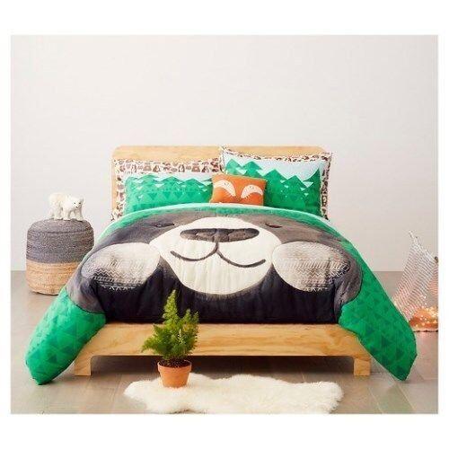 Pillowfort Best Bears Forever 3 pcs Comforter Set, Full  Queen