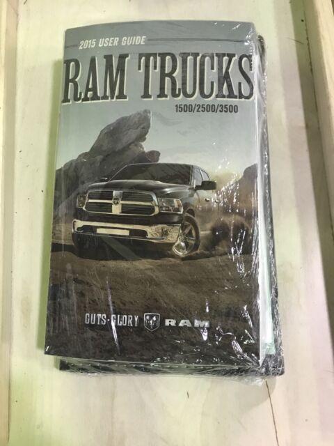 2015 Ram Trucks 1500    2500    3500 Owners Manual    User