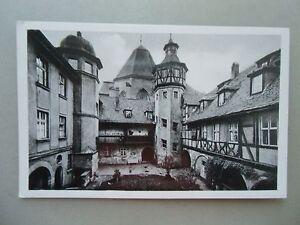Ansichtskarte-Ansbach-Alter-Hof-am-Joh-Seb-Bach-Platz-1963