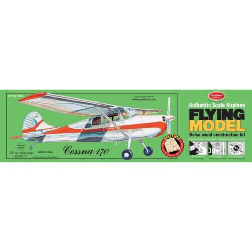 Guillow s Model Kit Private Planes Model Cessna 170 302LC