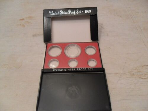 1979 Proof Set Box and Lens ONLY