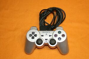 Original Sony Controller SCPH-10010 silber Playstation 2