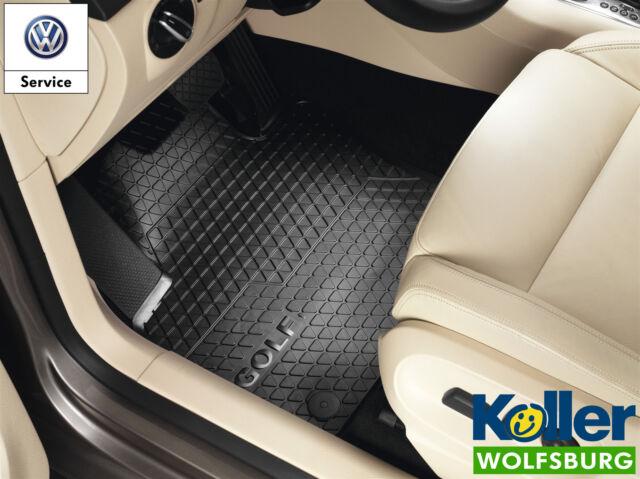 Original VW Golf 5 V 6 VI Cabrio Allwettermatten vorn Gummimatten Fussmatten