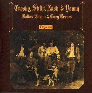 Crosby-Stills-Nash-amp-Young-Deja-Vu-remastered-New-CD-Rmst