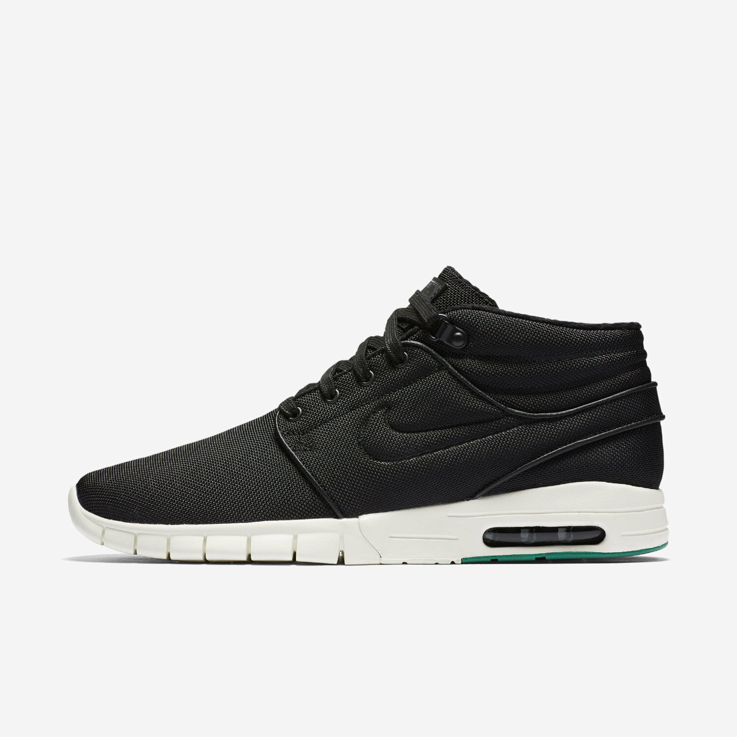 Nike SB Stefan Janoski Max Mid Mens Sz 6.5 Wmn Sz 8 807507-003 Black Skateboard Wild casual shoes New shoes for men and women, limited time discount
