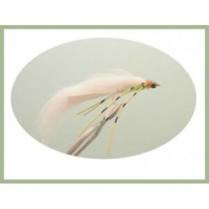 Fishing Flies 6 Pack of Olive /& White Size 10 MINI Cats Whiskers Trout Flies