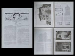 Intelligente La Construction Moderne, N°10, 1910, Gif Sur Yvette, Villa, Albert Maurice Turin