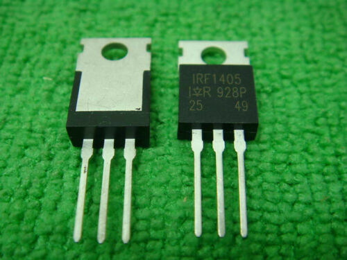4 Power Mosfet IRF1405 IRF 1405 Transistor TO-220AB NEW