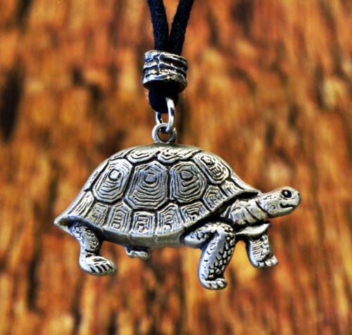 Details about  /Tortoise Turtle Pendant in Fine PewterMade in USA