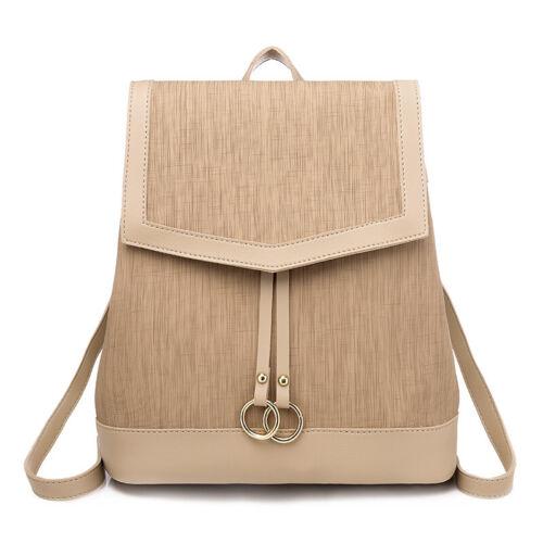 Neu Damen rucksack Leder Anti Diebstahl wasserdichter Daypack Rucksack taschen