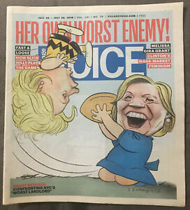 The-Village-Voice-New-York-City-Newspaper-2016-Hillary-Clinton
