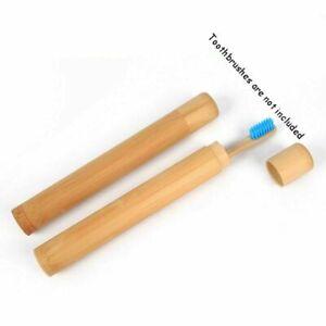 Zahnbuerste-Holz-Fall-Zaehne-Pinsel-Weichen-borsten-Bambus-Rohre-Griff-Halter-L1V4