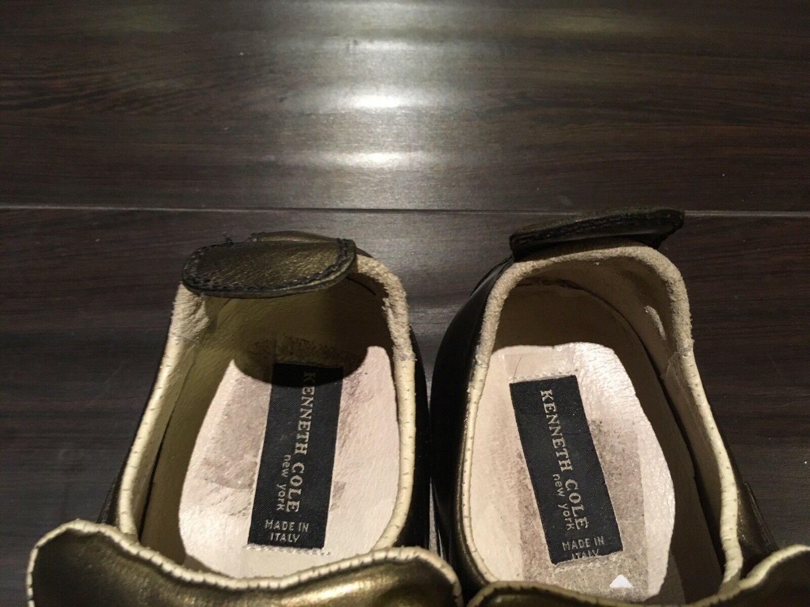 Kenneth Cole Cole Cole Uomo Pelle Scarpe, Taglia 9, Made in ITALY, Rare Style c29d74