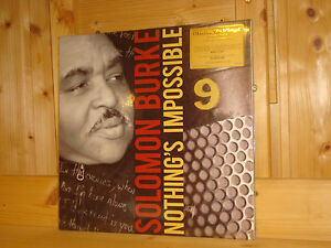 Solomon Burke Nothing 180 S Impossible Music On Vinyl Mov 180g