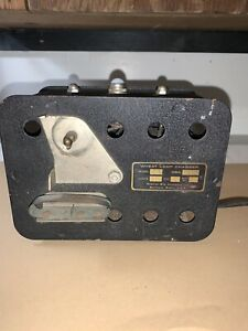 Vintage COAL MINERS Light Mining Equipment WHEAT LAMP CHARGER Model 567 Koehler