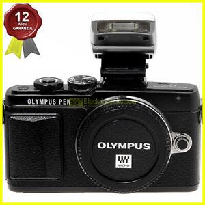 Olympus Pen E-PL7 body nera Fotocamera digitale Mirrorless Micro 4/3 MFT. Black.